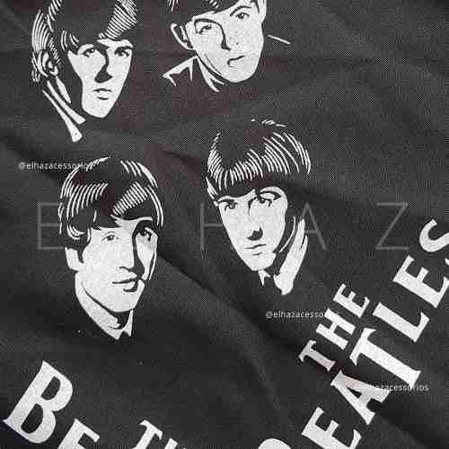 Lenço Bandana The Beatles Banda Musica Rock Moto