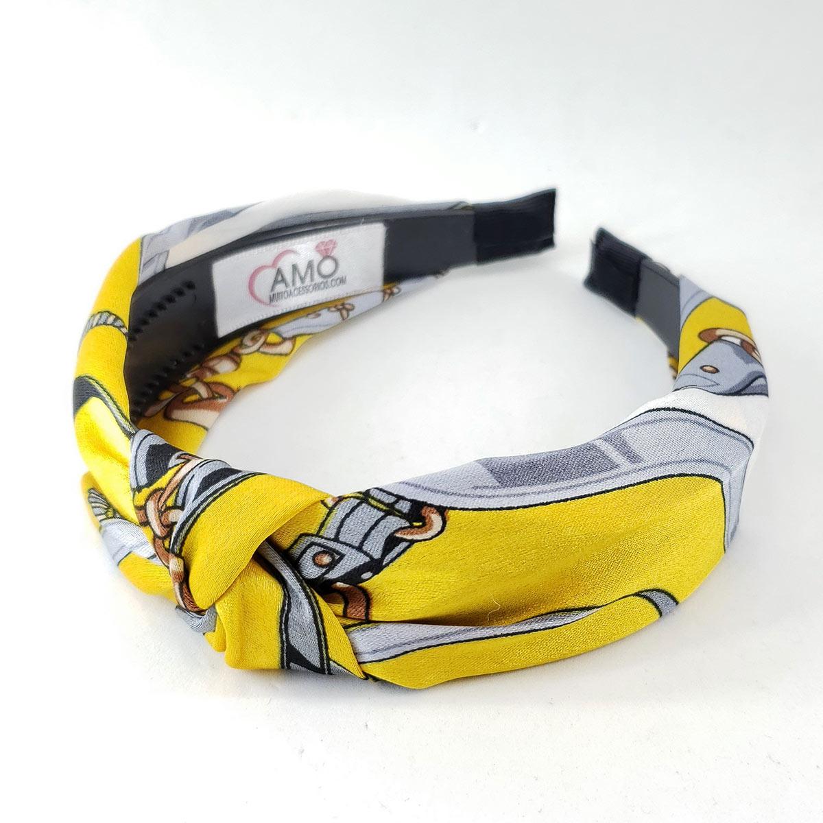 Tiara amarela