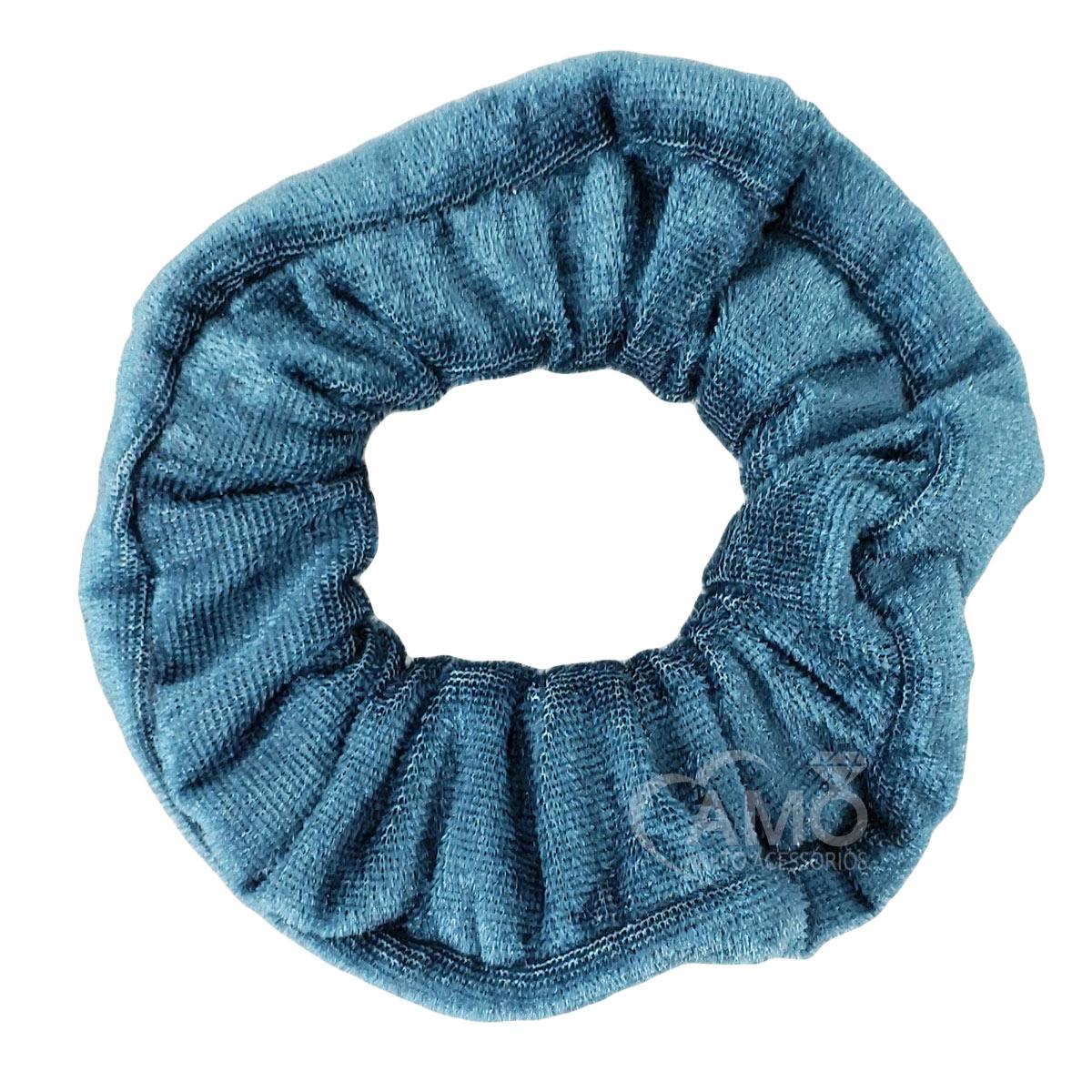 Scrunchie pulseira de veludo tecido