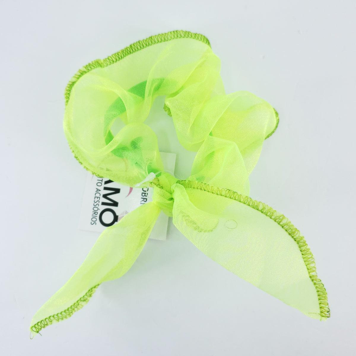 scrunchie neon