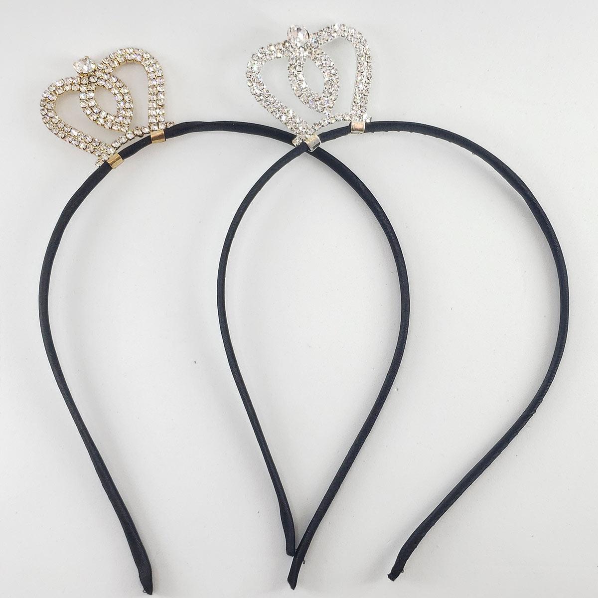 Tiara Com Mini Coroa -varias Cores