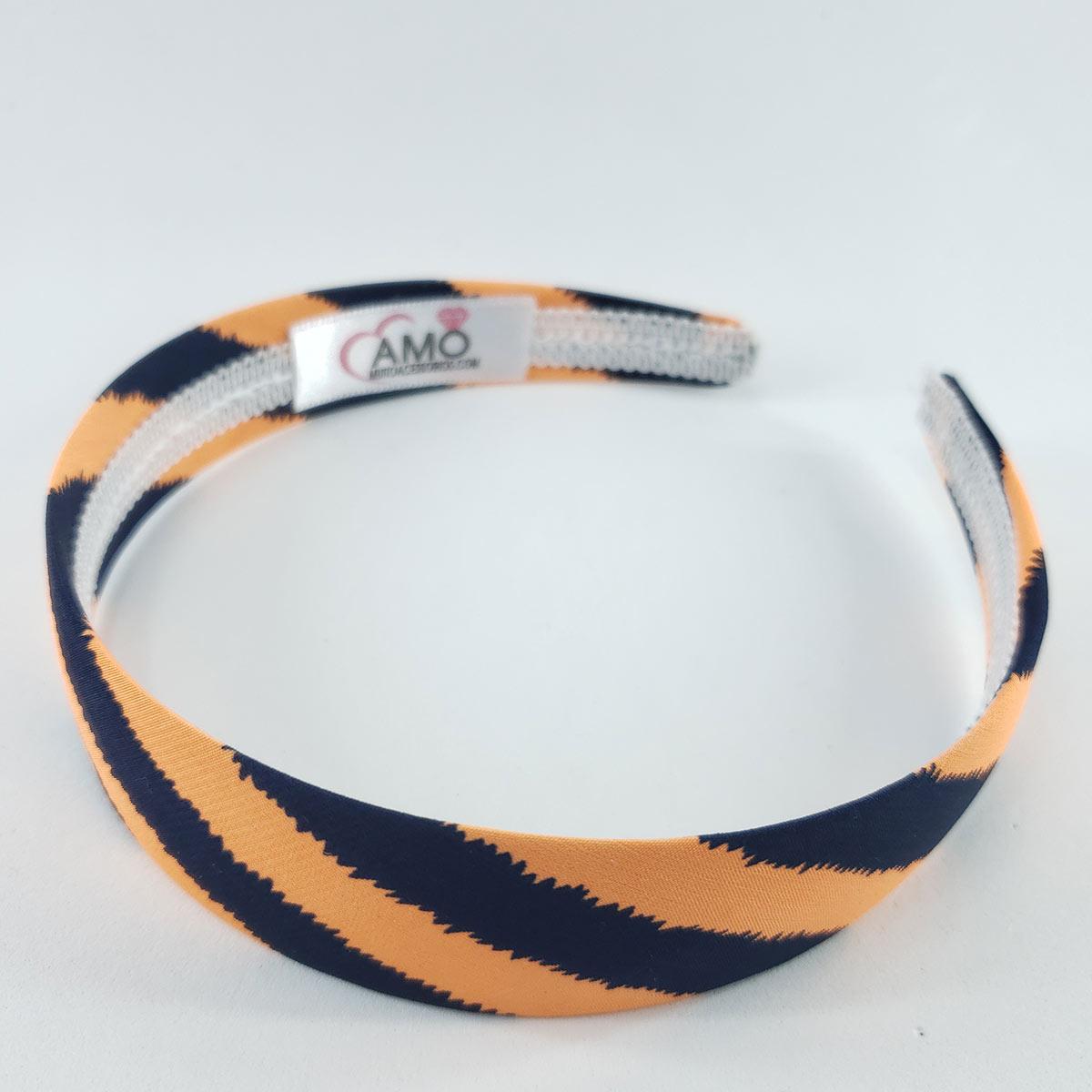 Tiara 3cm Colorida Listras - Super Confortável