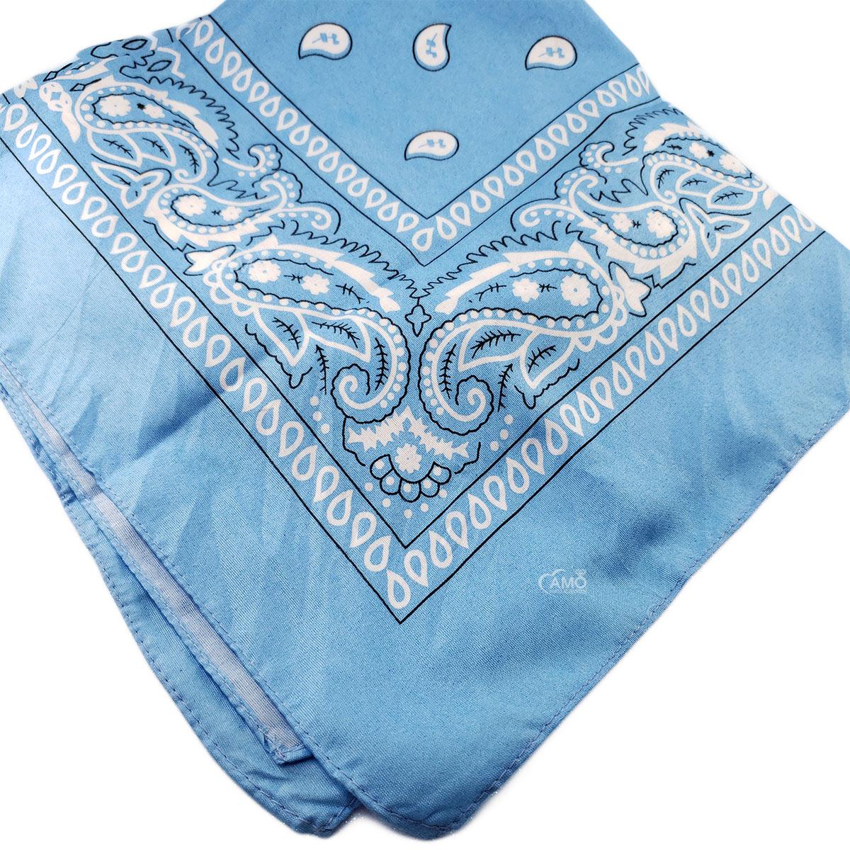 bandana azul claro